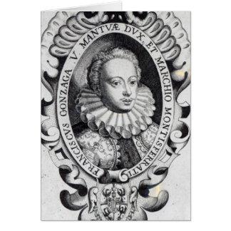 Francesco Gonzago, Duke of Mantua and Marquess Card