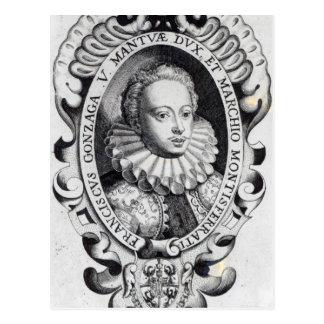 Francesco Gonzago, Duke of Mantua and Marquess Postcard