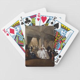 Francesco Guardi- Parlour of San Zaccaria Convent Card Decks
