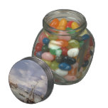 Francesco Guardi- The Lagoon from Fondamenta Nuove Glass Candy Jar