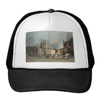 Francesco Guardi- The Torre del Orologio Trucker Hats