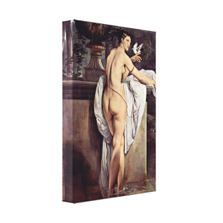 Francesco Hayez - Carlotta Chabert as Venus Gallery Wrapped Canvas