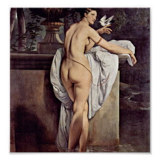 Francesco Hayez - Carlotta Chabert as Venus Poster