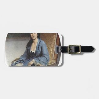 Francesco Hayez- Portrait of Antoniet Negroni Tags For Bags