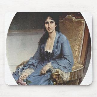 Francesco Hayez- Portrait of Antoniet Negroni Mouse Pads
