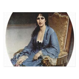 Francesco Hayez- Portrait of Antoniet Negroni Postcard