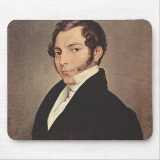 Francesco Hayez- Portrait of Conte Ninni Mouse Pad