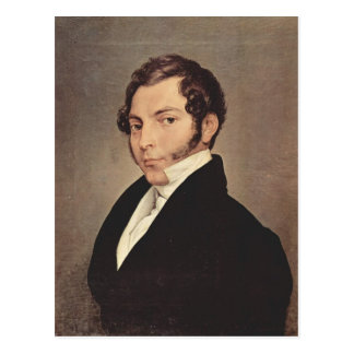 Francesco Hayez- Portrait of Conte Ninni Postcard