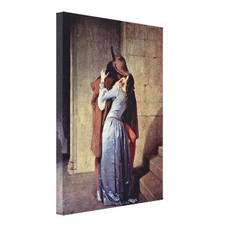 Francesco Hayez - The Kiss Canvas Print