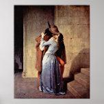 Francesco Hayez - The Kiss Poster