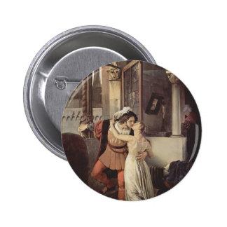 Francesco Hayez- The last kiss of Romeo and Juliet Pins