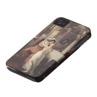 Francesco Hayez- The last kiss of Romeo and Juliet iPhone 4 Case-Mate Case