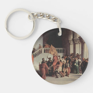 Francesco Hayez- The liberation from the prison Keychain