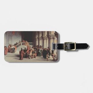Francesco Hayez- The liberation from the prison Luggage Tag