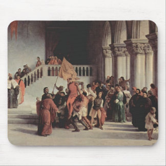 Francesco Hayez- The liberation from the prison Mouse Pads