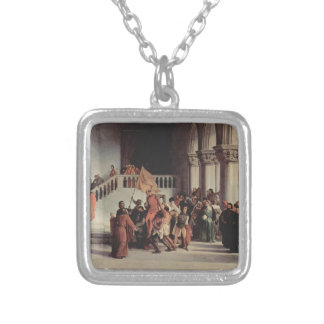 Francesco Hayez- The liberation from the prison Necklace