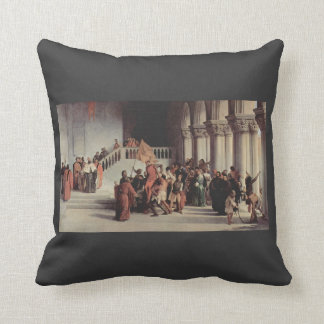Francesco Hayez- The liberation from the prison Pillows