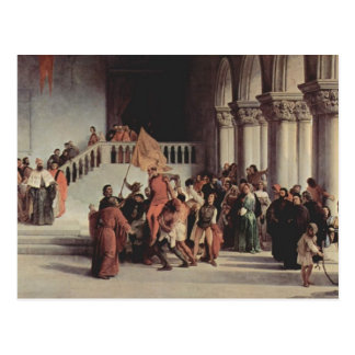 Francesco Hayez- The liberation from the prison Post Cards
