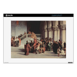 Francesco Hayez- The liberation from the prison Laptop Decals
