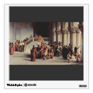 Francesco Hayez- The liberation from the prison Wall Sticker
