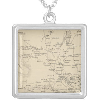Francestown, Hillsborough Co Silver Plated Necklace
