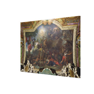 Franche-Comte Conquered for the Second Time Canvas Print