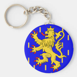 Franche-Comté (France) Flag Keychain