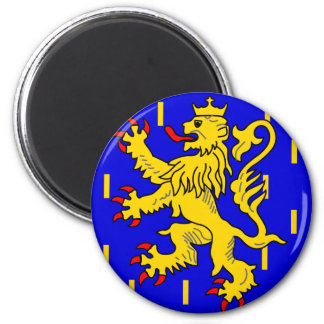 Franche-Comte, France 2 Inch Round Magnet