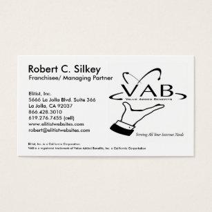 Partner business cards templates zazzle franchisee managing partner business card reheart Images
