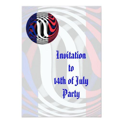 Francia #1 invitacion personalizada