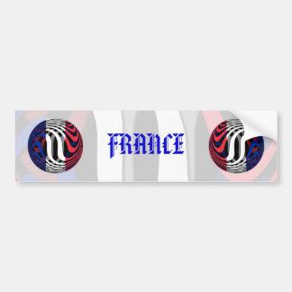 Francia #1 pegatina para auto