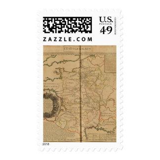 Francia 29 timbres postales