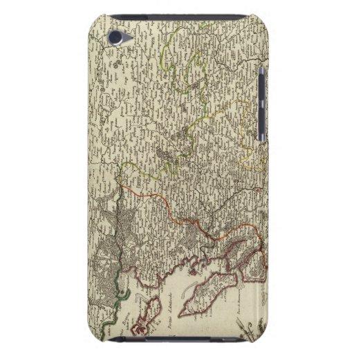Francia 2 iPod touch Case-Mate funda