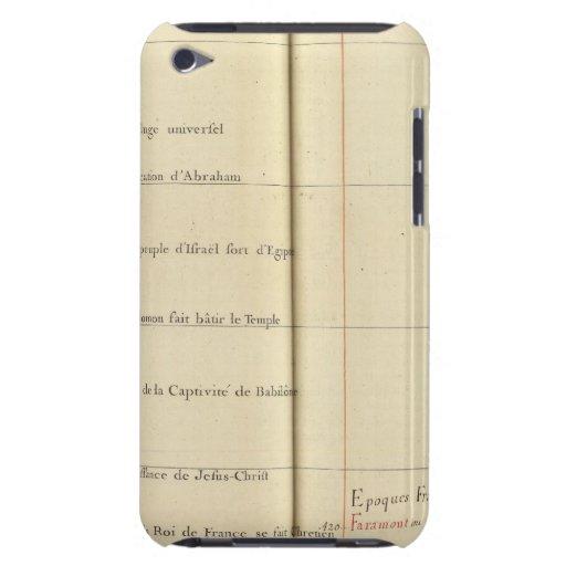 Francia 38 iPod touch Case-Mate cárcasas
