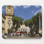Francia, Aix-en-Provence, La Place de la Maire Tapetes De Ratón