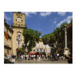 Francia, Aix-en-Provence, La Place de la Maire Tarjeta Postal