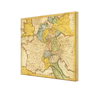 Francia Alemania Países Bajos Suiza Impresiones En Lienzo Estiradas