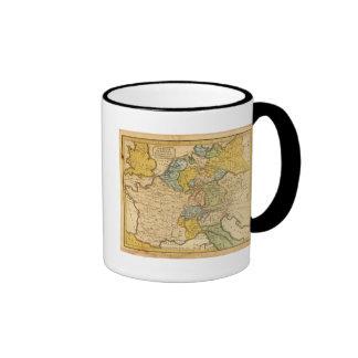 Francia, Alemania, Países Bajos, Suiza Tazas De Café
