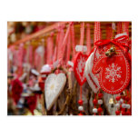 Francia, Alsacia, Colmar. Mercado del navidad Postales