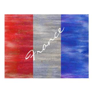 Francia apenó la bandera francesa tarjetas postales
