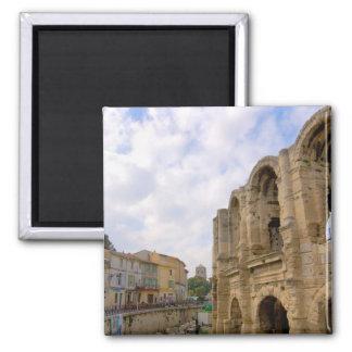 Francia, Arles, Provence, amphitheatre romano Imán Cuadrado