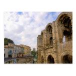 Francia, Arles, Provence, amphitheatre romano Tarjeta Postal
