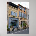 Francia, Arles, Provence, hotel y restaurante Póster