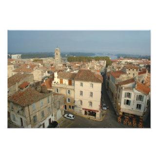 Francia, Arles, Provence, opinión de la ciudad de Fotografías