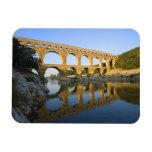Francia, Aviñón. El acueducto romano de Pont du Ga Rectangle Magnet