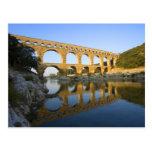 Francia, Aviñón. El acueducto romano de Pont du Postal