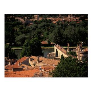 Francia Aviñón Provence St de Pont Benezet Postales