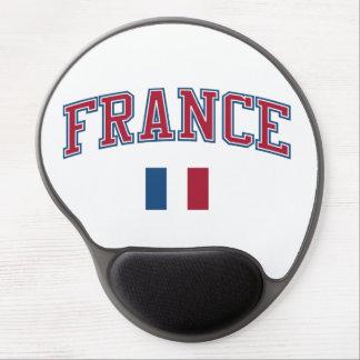 Francia + Bandera Alfombrillas De Raton Con Gel