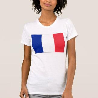 Francia - bandera nacional francesa camiseta
