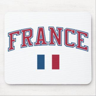 Francia + Bandera Alfombrilla De Ratones